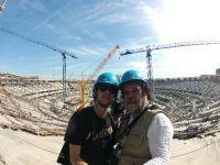 Leia mais...Livro registra preparação do maior estádio do mundo para Copa de 2014